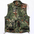 Man Tactical Hunter Vest Men Camouflage Vests Army Multi Pocket Travel  Camo Vest Shooting Vest Sleeveless Jacket