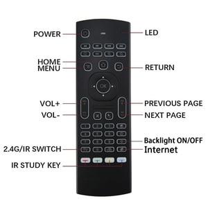 Image 4 - MX3 音声バックライトエアマウスT3 googleスマートリモコンir 2.4 2.4g rfワイヤレスキーボードX96 ミニH96 最大X2 プロアンドロイドテレビ
