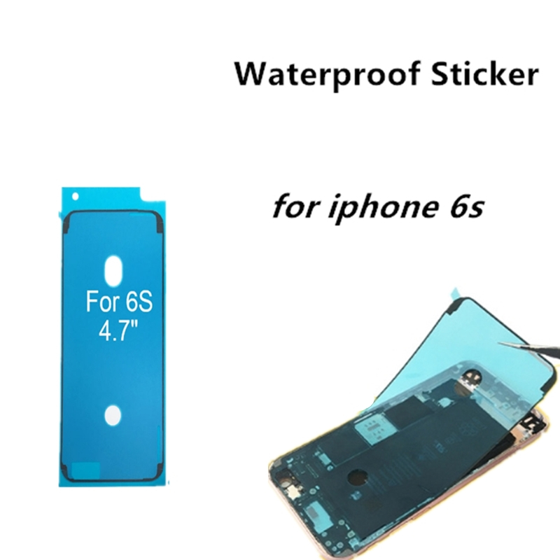 1pcs Waterproof Sticker For iPhone 6s LCD Screen Tape 3M Adhesive Glue Repair Parts With High Quality 2019 Hot Sale