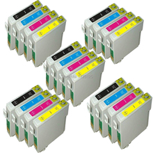 20 INK CARTRIDGE REPLACE FOR STYLUS SX200 SX205 SX210 SX215 SX218 SX400 SX405 SX410 SX510 SX515W PRINTER - 5SETS (NOT GENUINE) bloom t0711 71 continuous ink supply system ciss for epson stylus sx215 sx218 sx400 sx405 sx410 sx415 sx510w bx600fw bx610fw