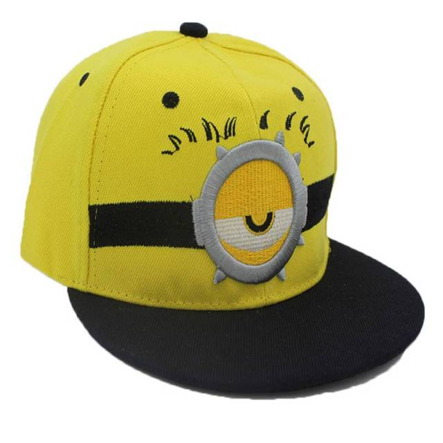 Kids Minions Themed Baseball Cap