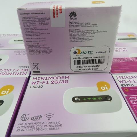 Huawei e5220 3G HSPA + 21.1 Мбит мобильный МИФИ беспроводного модема маршрутизатор белый