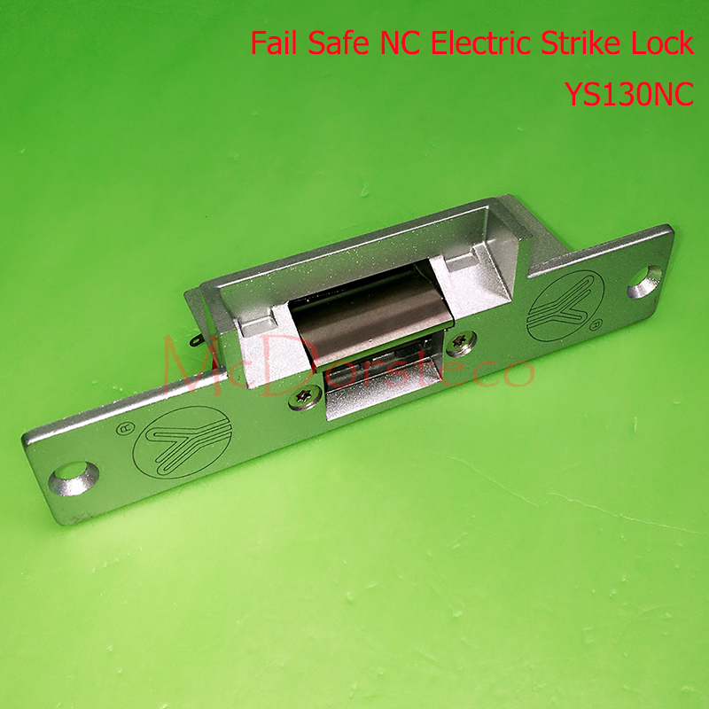 yli Best Quality Standard-type Electric Strike Lock Fail Safe Electric Door Lock Access Control Lock YS130NC NC Lock yli electronic narrow type electric strike lock electric fail secure electric door lock access control lock ys130no