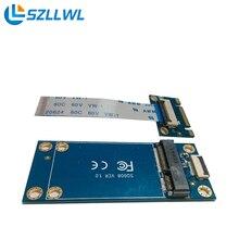M.2/NGFF для MSATA адаптер SSD solid state drive удлинитель адаптер конвертер карты с ключевыми B + M порт
