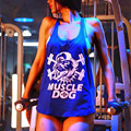 Mermaid Curve Summer Women Gym Tank Tops Loose New Plus Size Cotton Body Building Fitness Pro Combat Vests Sport Tops Clothing