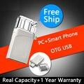 RealCapacity Telefone Inteligente PC USB OTG Flash Drive 64 GB 32 GB 16 GB 8 gb mini usb pen drive vara 128 gb 256 gb micro usb pendrive 512 GB