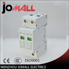 цена на SPD 1P+N 20KA~40KA C ~420VAC House Surge Protector protection Protective Low-voltage Arrester Device
