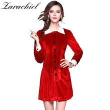 597eac1e9163d Buy red velvet dresses and get free shipping on AliExpress.com