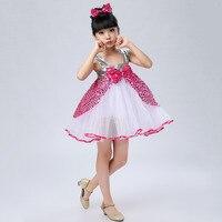 デザイナー中国子供服休日弓シフォン韓国スパンコール女の子ミニパーティードレスかわいい幼児の女の子