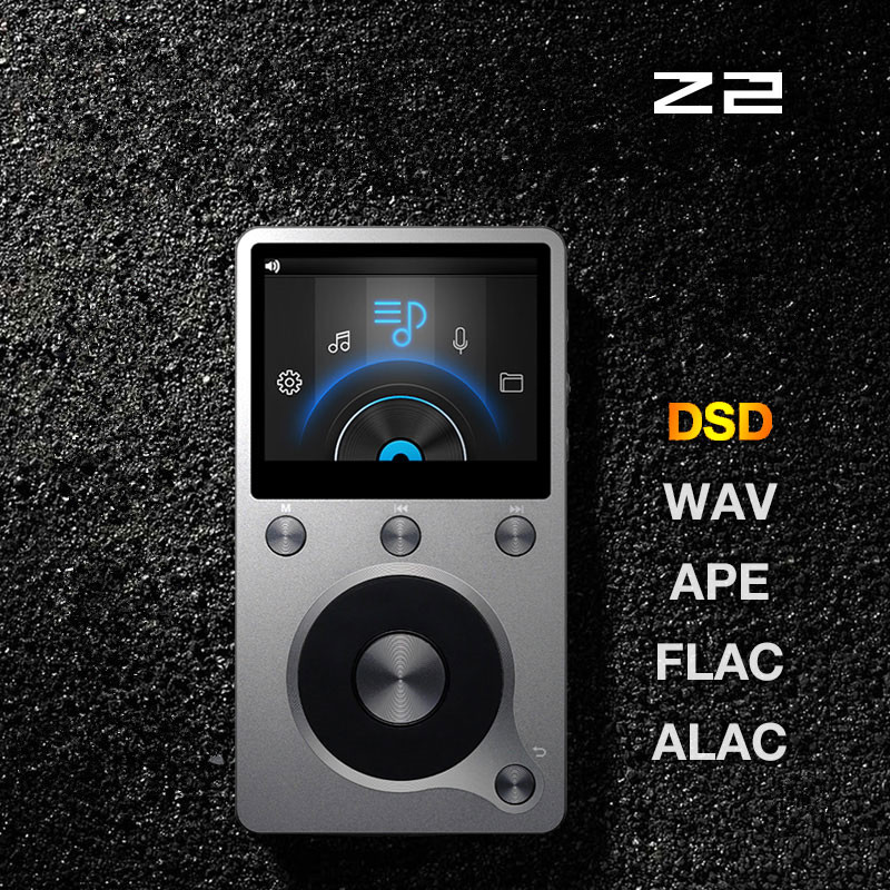 2017 Newest Original Aigo Z2 High Quality 8G Portable DSD HIFI  Lossless Recording Audio  Music Player Mini Movement MP3 Player