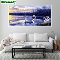 Home Beauty 50 100 Large Picture For Living Room Diy Hand Painted Modular Oil Painting By