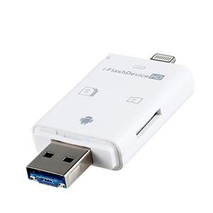 Image 5 - Ll trader i flash drive multi card otg leitor hd micro sd & tf memória usb adaptador de leitor de cartão para iphone 8/andriod/dispositivo de computador