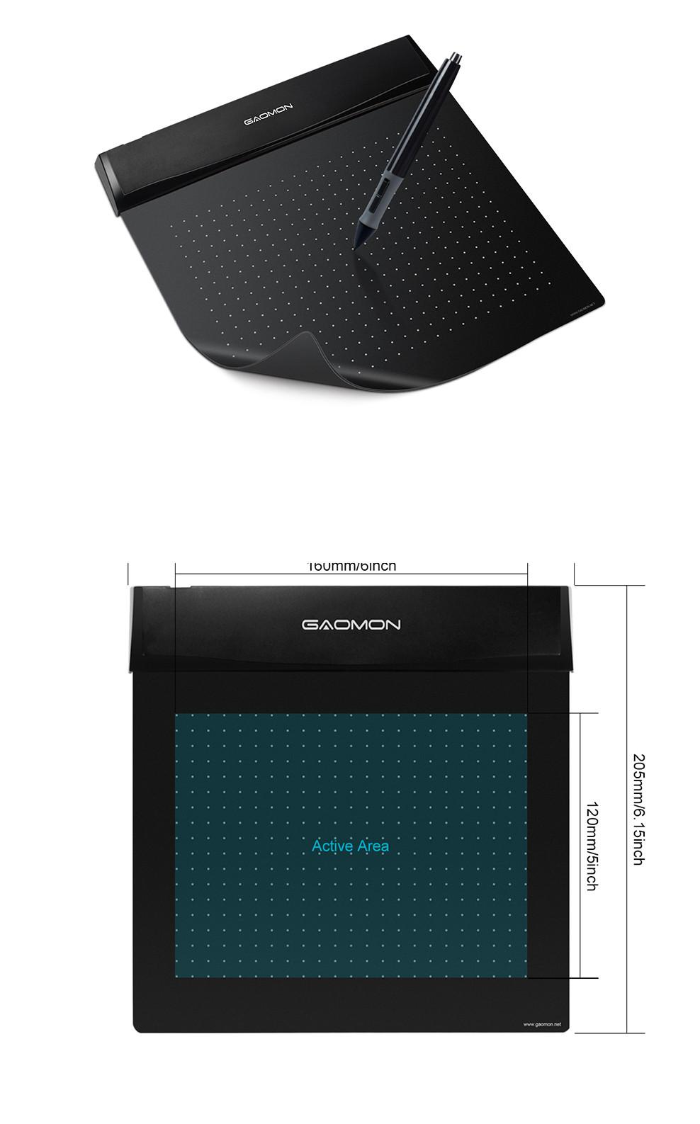 لوحة رقمية صغيرة مرنة للرسم والتصميم الهندسي على الحاسوب 3