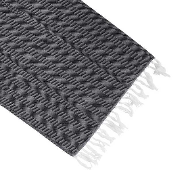 Cotton Yarn Dyed Dish Towel With Hand-made Tassel Napkin Tea Towel Dishtowel Kitchen Towel Cleaning Cloth