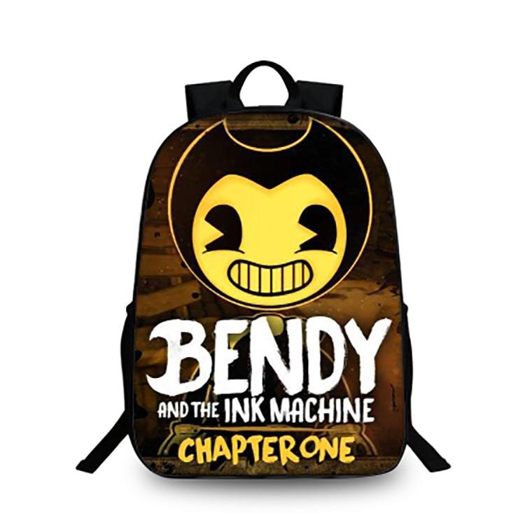 207f058400 Acquista 2018 Bendy And The Ink Machine Zaino Adolescenti Torna A ...
