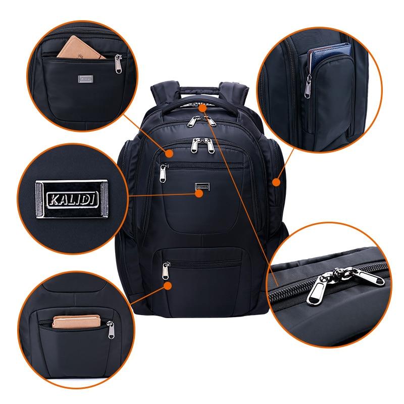 KALIDI Suya davamlı noutbuk çantası Sırt çantası, Macbook 17 - Noutbuklar üçün aksesuarlar - Fotoqrafiya 4