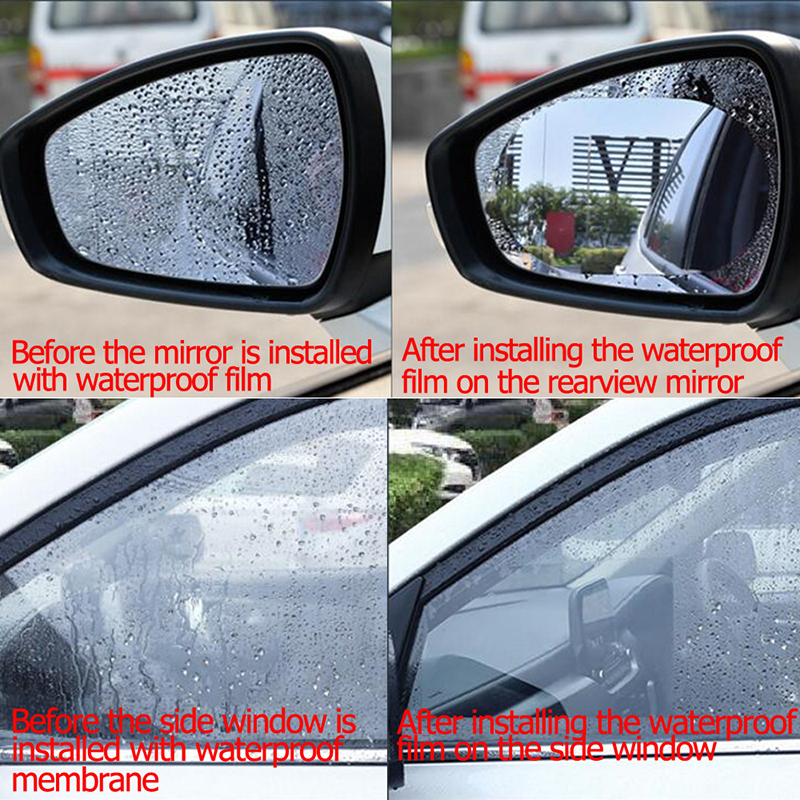 PEUGEOT CAR SIDE MIRRORS WATER REPEL /& ANTI-FOG//FROST FILM ROUND//OVAL