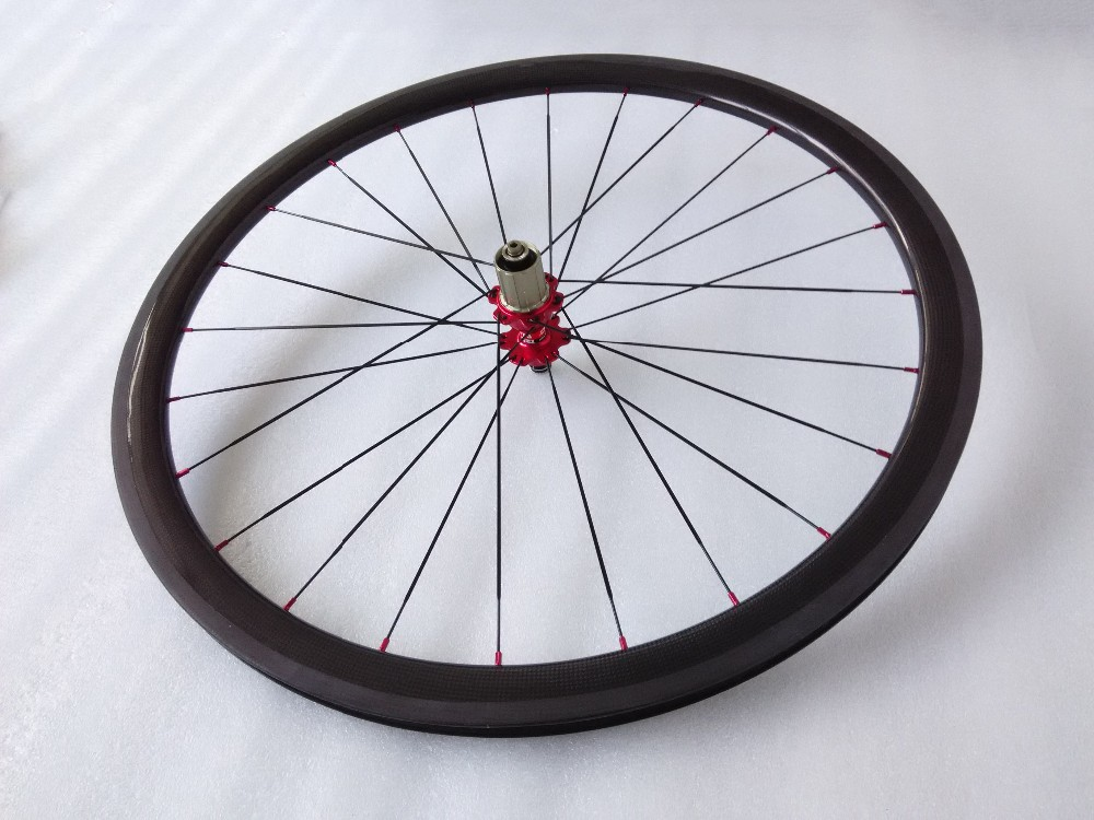 Cheapest price Chinese carbon wheels 700C road bike clincher 38mm wheelset (1)