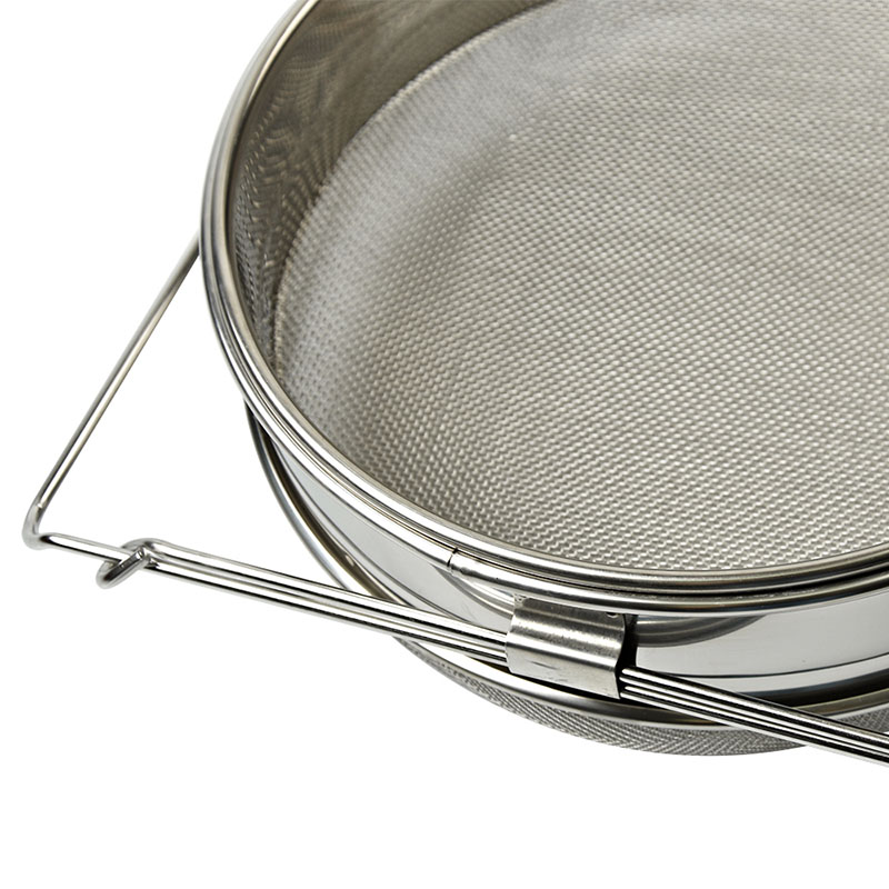 Image 3 - L Size Double layer Stainless Steel Honey Sieve Filtration Bee Honey Filter Strainer Machine Tool Extractor Beekeeping Tools AUG-in Beekeeping Tools from Home & Garden