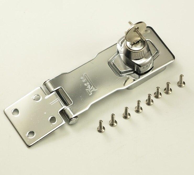 Locking Hasps  Keyed Hasp  Chrome Plated Twist Knob