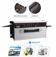 Высокое качество 1200 Вт Портативный 12 В 50A свинцово кислотная батарея зарядное устройство для автомобиля/Ebike батарей Электроинструмент