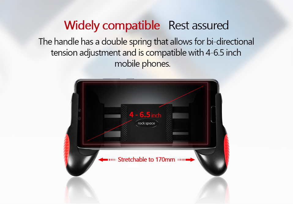 4.Original Huawei Gamepad Rock Space Newest ABS material Phone Accessories Game Controller with hook For IPhone Android Mobile Phone