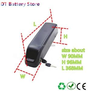Free shipping bafang BBS02 BBS02B BBSHD tongsheng TSDZ2 TSDZ3 500w 750w 1000w motor e-bike scooter battery 48v 14ah with charger