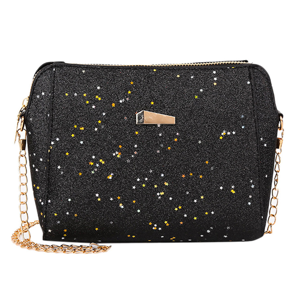 2bd86856a9fc Bags for women 2018 crossbody womens bag handbag Womens Fashion Sequins Crossbody  Bag Pure Color Shoulder Messenger Bags bolso -in Shoulder Bags from ...