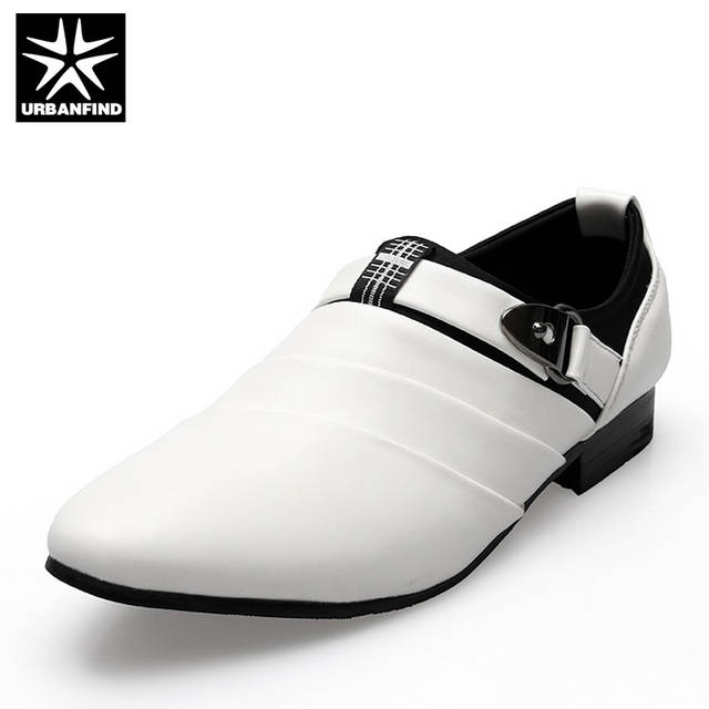 URBANFIND Business Men Formal Shoes Black   White Man Oxfords EU 39-44  Latest Style 8e50a384e8ea