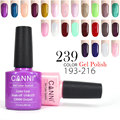 CANNI Odorless Gel Polish 7.3ml 30917 Color 193-216 DIY Nail Art Salon High Quality Glaze Blin Bling Pearl Effect UV Gel Varnish