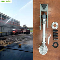 S062 360 Gear Drive Sprinkler Type and Aluminium Alloy and Stanless Steel Material sprinkler gun for Irrigation