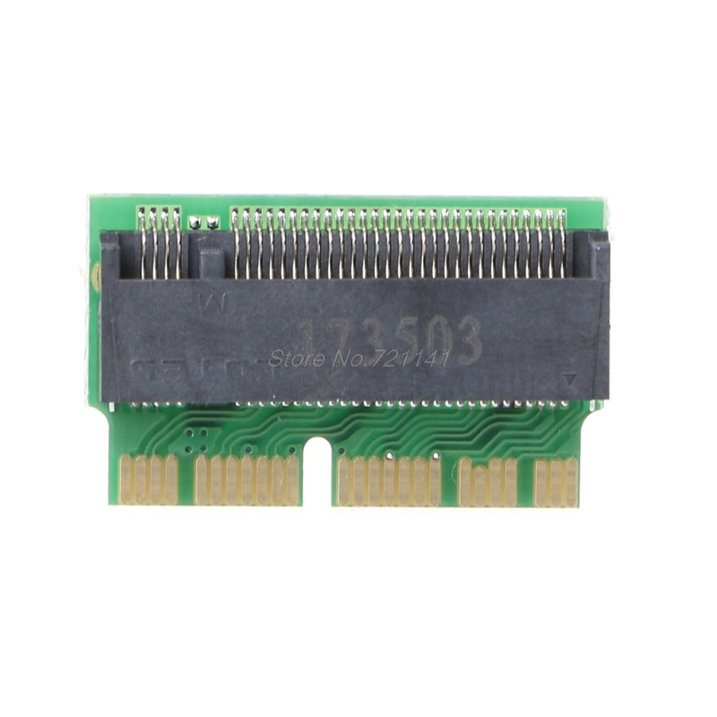 M Key M.2 PCI-e To 12+16Pin Interface AHCI SSD Adapter Card For 2013 2014 2015 MACBOOK Air A1465 A1466 Pro A1398 A1502 A1419