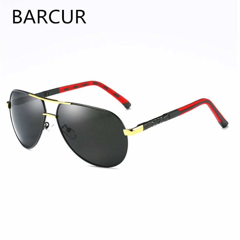 Fashion Outdoor Spring Hinges Mirror Sun Glasses Male Fishing UV400 Protection Classic Pilot Metal Sunglasses Men Eyewear