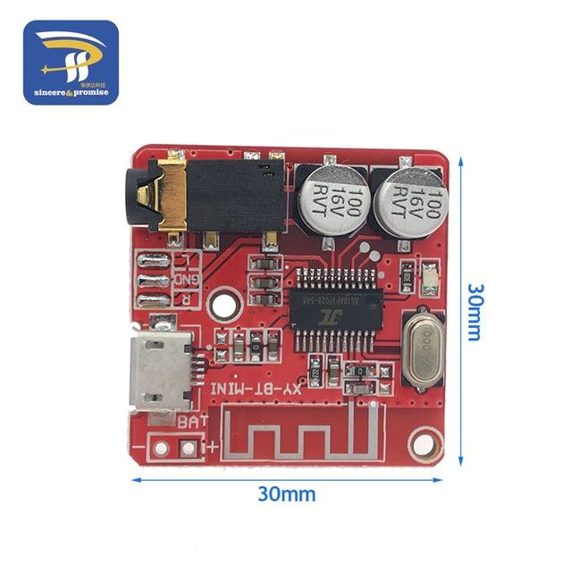 DIY Bluetooth Audio Receiver board Bluetooth 4.0 4.1 4.2 5.0 MP3 Lossless Decoder Board Wireless Stereo Music Module 3.7-5V 6