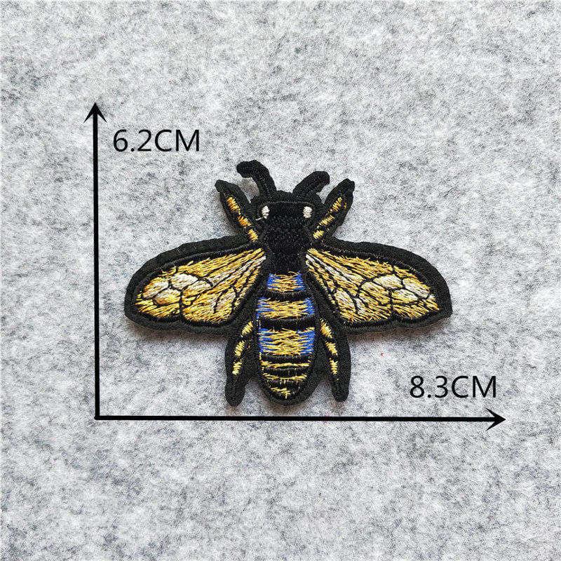 Мультяшная декоративная заплатка, сердце, дерево, Бабочка, узор, вышитая аппликация, нашивки для DIY, железные наклейки на одежду - Цвет: C6227