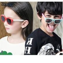 2017 Kids Sunglasses Polarized Silica Gel Child Baby Safety Coating Sun Glasses UV400 Eyewear Shades Infant Oculos De Sol