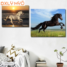3d Diy diamond painting horse picture mosaic 5d cross stitch full square diamond embroidery kits animal painting home decor 3d diy diamond painting horse picture mosaic 5d cross stitch full square diamond embroidery kits animal painting home decor