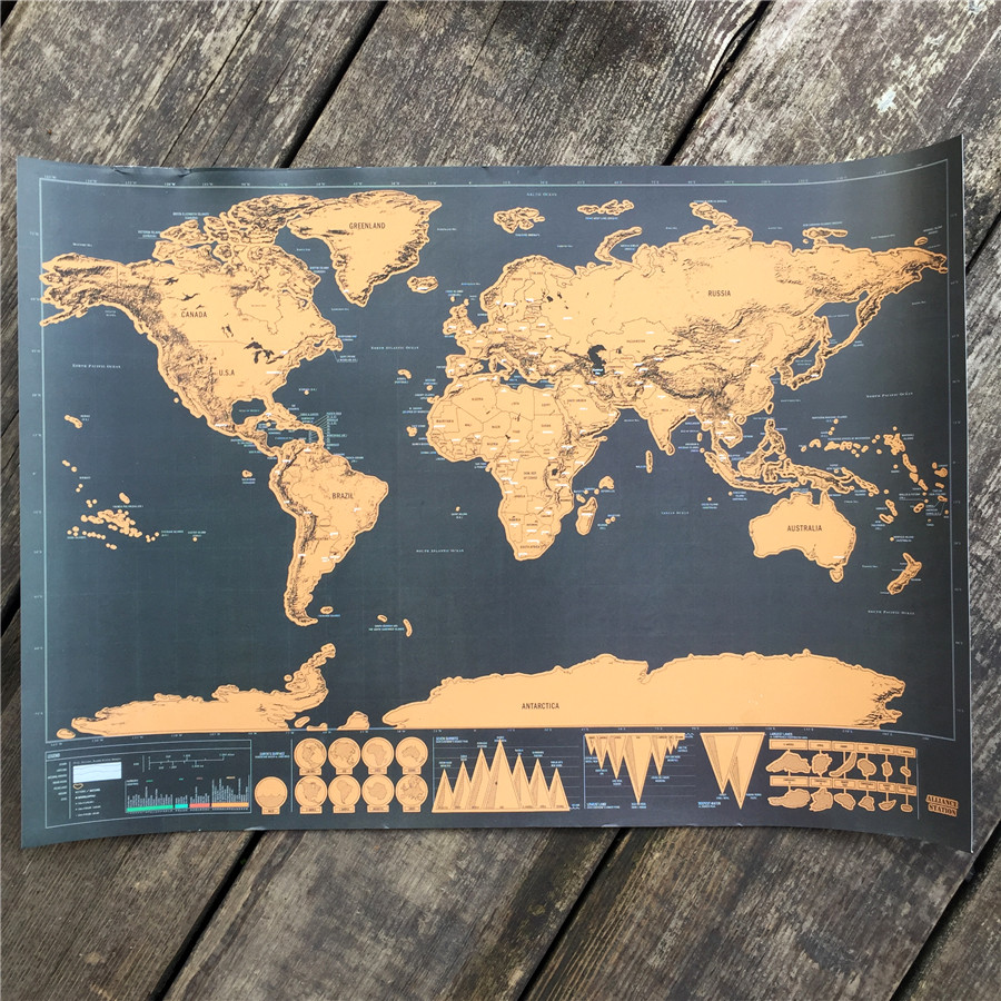 Travel map personalized vintage world map poster sticker traveler travel map personalized vintage world map poster sticker traveler vacation national geographic map world 82x59cm in wall stickers from home garden on gumiabroncs Image collections