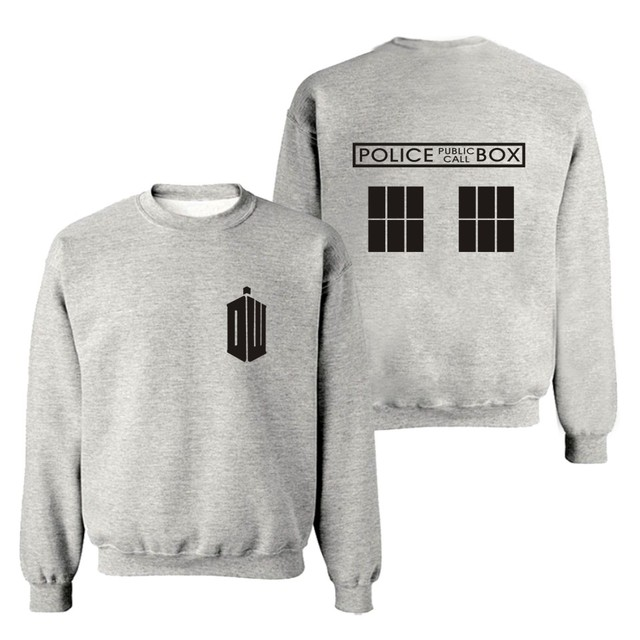 Doctor Who Police Box Sweatshirt