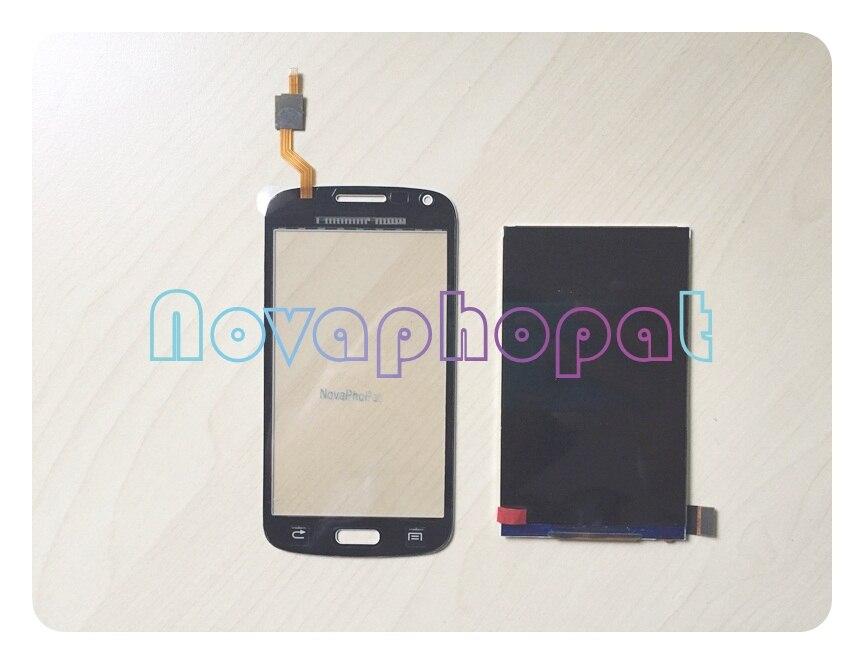ЖК-дисплей Novaphopat + дигитайзер сенсорного экрана для Samsung Galaxy Core Duos i8260 i8262, замена
