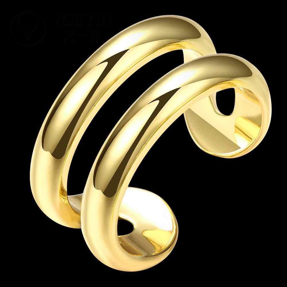 R064-A ขายส่งคุณภาพสูง Nickle ฟรีเครื่องประดับแฟชั่นใหม่ Antiallergic ใหม่เครื่องประดับแหวนแหวน anel feminino