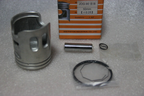 JOG90 modified 50.25mm piston & Ring Set (12mm pin) for yamaha 90cc 2 stroke scooter Minarelli JOG90 4DM