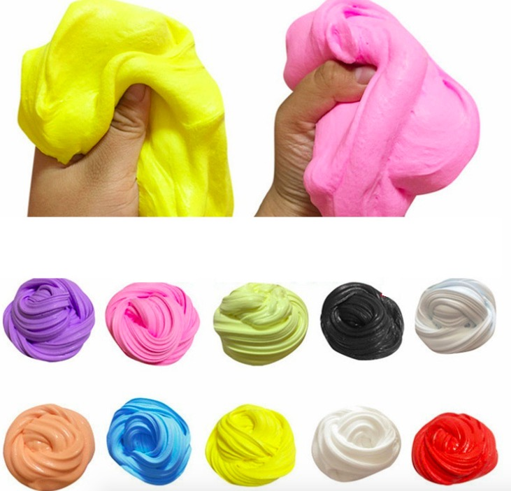 Toys & Hobbies Christmas Colorful Cotton Slime Fluffy Slime Clay Ball Soft Cotton Charms Slime Craft Antistress Kids Toys For Christmas Gifts Easy To Use