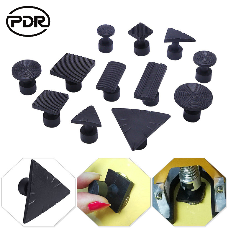PDR Car Body DIY Tool Glue Tabs Paintless Dent Repair Tools Puller Tabs Fungus Suction Cup Suckers Glue For Slices Auto Repair