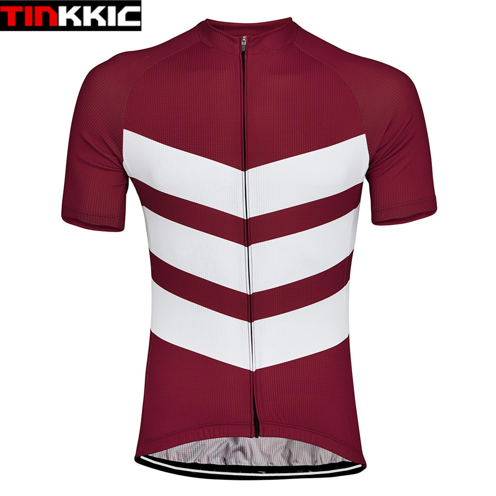 Hombres Ciclismo ropa manga corta maillot ciclismo Bicicletas Racing ciclo Ciclismo Jersey MTB bicicleta ropa deportiva 5 colores # xt-062