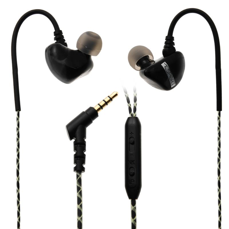 In-Ear Sports Earphone M7 Wired Stereo Headsets Headphone with Wire Control Microphone for Computer iPhone MP3 MP4