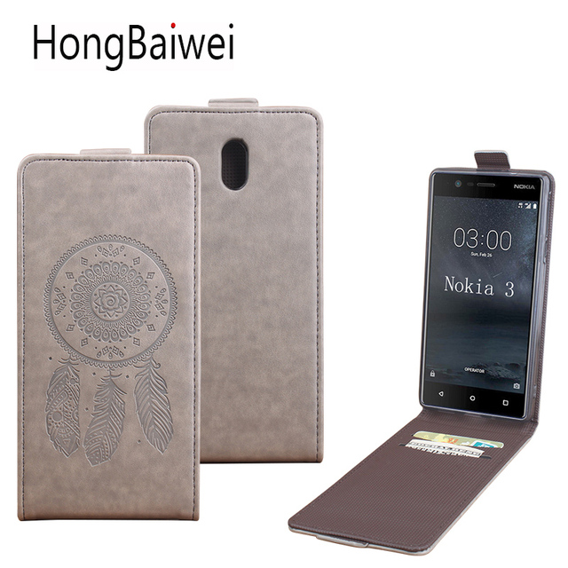 finest selection db8b3 c4343 US $4.15 5% OFF|Flip Leather Wallet Case For Nokia 3 Nokia 5 Nokia 6 7 8 9  Mobile Phone Bag Cover For Nokia Lumia 640 XL 540 Case Stand Funda-in Flip  ...