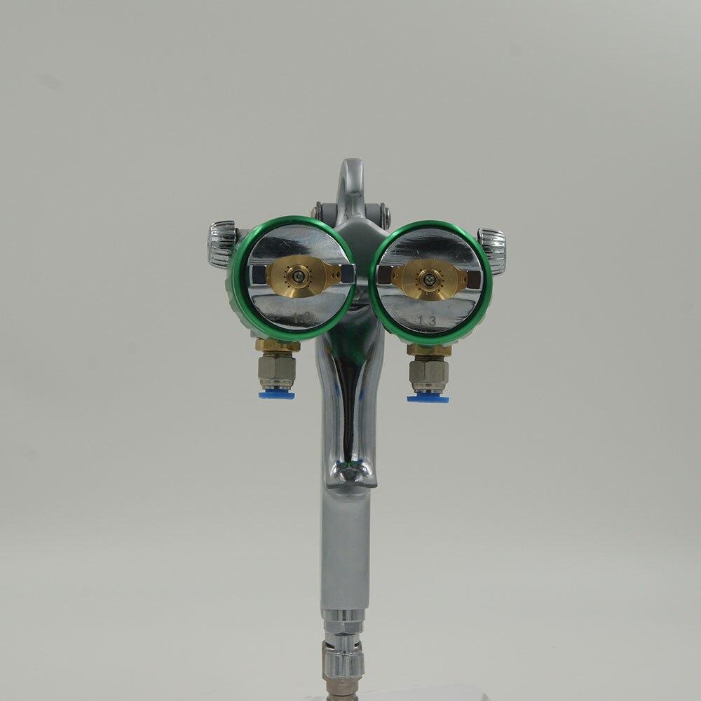 Serbatoio a pressione SAT1200 Pistole a spruzzo 2 * 1000ml per - Utensili elettrici - Fotografia 2