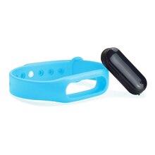 Yuntab C6 Смарт часы 0.69 «Смарт часы носимых Спортивные оригинальный браслет сна Мониторы браслет активных трекер (синий)