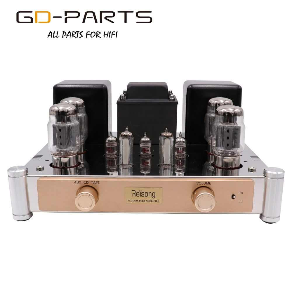 Push Pull KT88 Vacuum Tube Amplifier HI FI Audio Vintage Tabung Terintegrasi Amp Home Amplifier Tabung Amp AUX CD Tape Input 35 W 60 W
